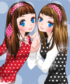 Polka Dot Friends Dress Up Game