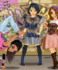 Boho vs Hip Hop Style Dress Up Game