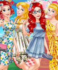 Best Party Outfits for Princesses Dress Up Game