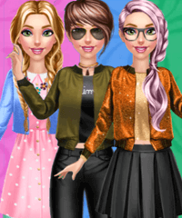 Evie Girly or Tomboy Dress Up Game