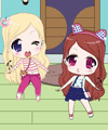 Chibi Twins Dress Up Game