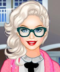 Barbie Autumn Fling Dress Up Game