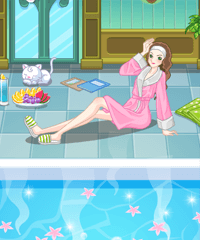 Water Charm Spa Decoration Game