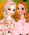 Frozen Sisters Autumn Travelling Dress Up Game