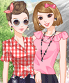 Countryside Friends Dress Up Game