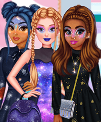 Princesses Just Another Galaxy Dress Up Game