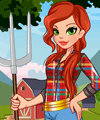 Chic Farmer Dress Up Game