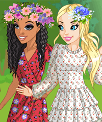 The Smell of Wild Summer Dress Up Game