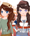 Autumn Breeze Dress Up Game