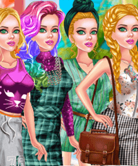 Princess Odd Jobs Choice Dress Up Game
