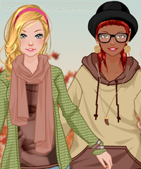Autumn Fashion with BFF