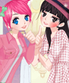 Two Young Girls 3 Dress Up Game