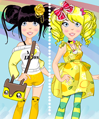 Kawaii Lemon Dress Up Game
