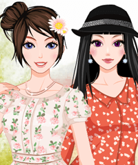 Early Spring Dress Up Game