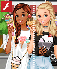 Summer Ice Cream Dress Up Game
