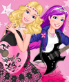 Barbie and Popstar Dress Up Game