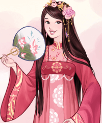 Chinese Beauty Dress Up Game