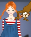 Pippi Longstocking Dress Up Game