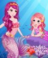 Little Mermaid and Mom