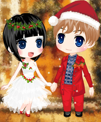 Christmas Wedding Dress Up Game