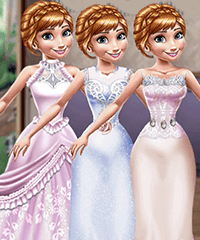 Wedding Dress Design for Princess Game