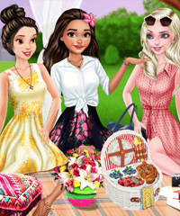 Royal Picnic Day Dress Up Game