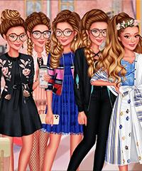 Ariana Grande Paparazzi Fashionista Dress Up Game
