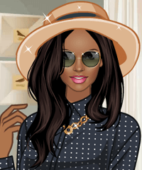 Pretty Polka Dress Up Game