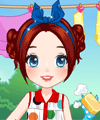 Laundry Day Dress Up Game