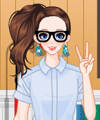 Style Adventure Geek Style Dress Up Game