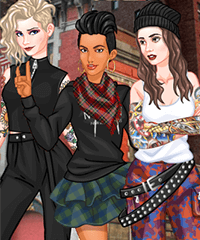 Tough Cookies Inspo Series Dress Up Game