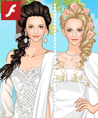 Spring Bridal Dress Up Game