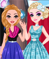 Frozen Fangirls Dress Up Game