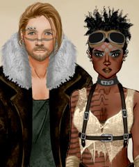 Post Apocalyptic Duo Dollmaker Game