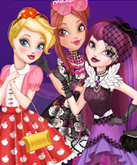Ever After High Thronecoming Queen Dress Up Game