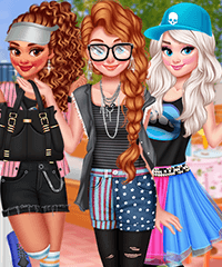 Pre-concert Rooftop Party Dress Up Game