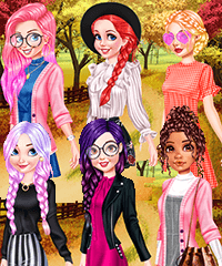 Fairyland Autumn OOTD Outfit of the Day Dress Up Game