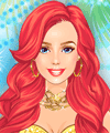 Princess Ariel Dress Up Game