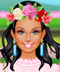 Colorful Spring Dress Up Game