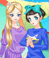 The Lost Color Dress Up Game