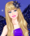 Barbie Night Fairy Dress Up Game