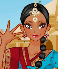 Indian Dancer Makeover Game