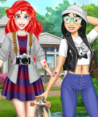 BFF Matching Tattoos Dress Up Game