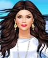 Selena Gomez City Girl Dress Up Game