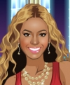 Perfume de Beyonce Dress Up Game