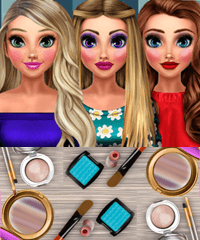 Supermodels Glossy Makeup Game
