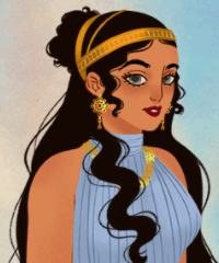 Ancient Greek Fashion Dress Up Game