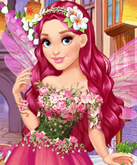 Enchanted Spring Dress Up Game