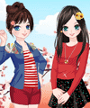Charming Girls Dress Up Game