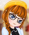 Girl in Library Dress Up Game